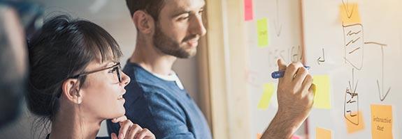 Teamwork zwischen Marketing und Vertrieb