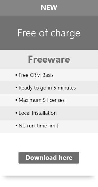 Price Table: Freeware