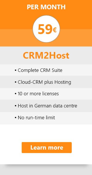 Price Tab: CRM2Host