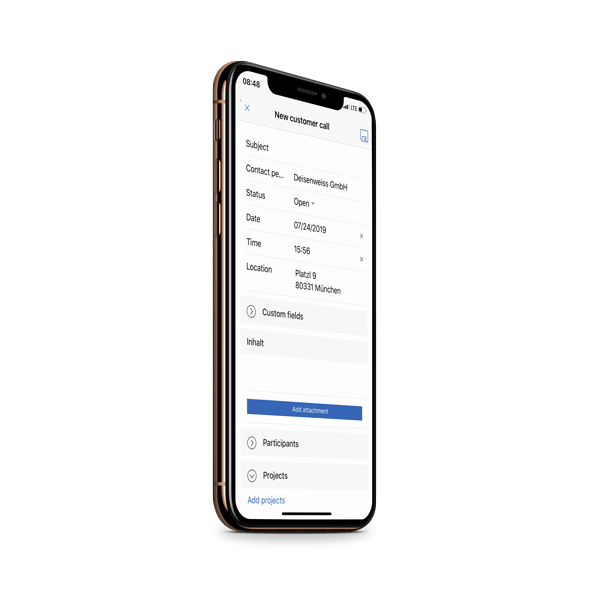 CRM App - goMobile Pro