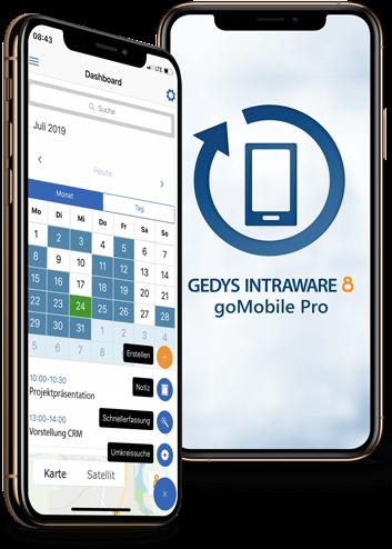 CRM App - goMobile Pro: Mobil Arbeiten – online wie offline