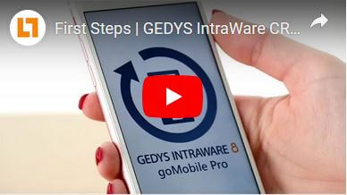 Video_ First Steps goMobile Pro CRM-App GEDYS IntraWare