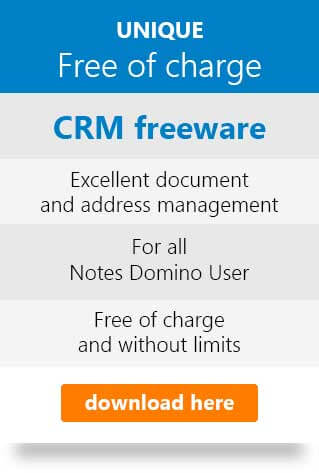 CRM freeware free of charge. Unique! donwload here.