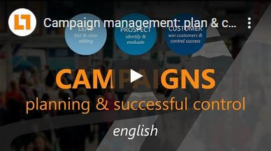 Video: Campaign management: plan & control campaigns