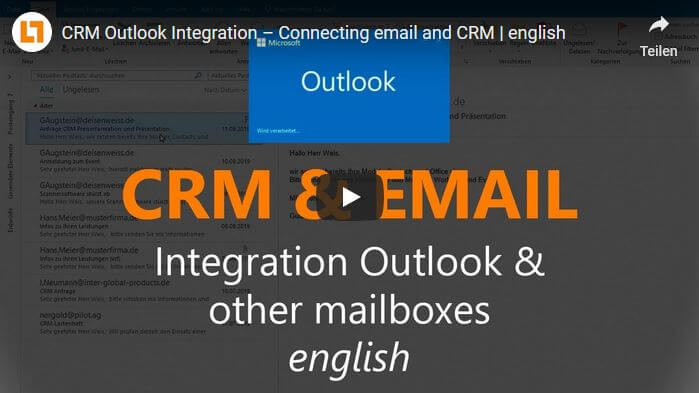 Video: CRM Outlook Integration – Connecting email and CRM | english