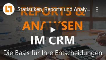 Video: Statistiken, Reports und Analysen | GEDYS IntraWare CRM