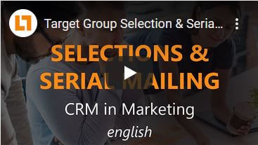 Video: Target Group Selection & Serial Mailing