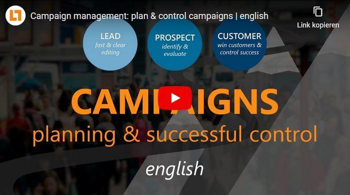 Video: Campaign management: plan & control campaigns