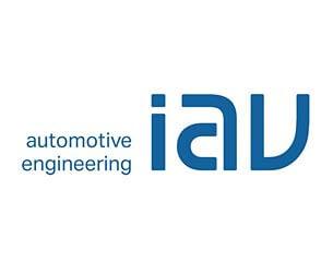 Kundenrefrenz GEDYS IntraWare: Logo von IAV Automotive Engineering