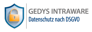 DSGVO mit GEDYS IntraWare
