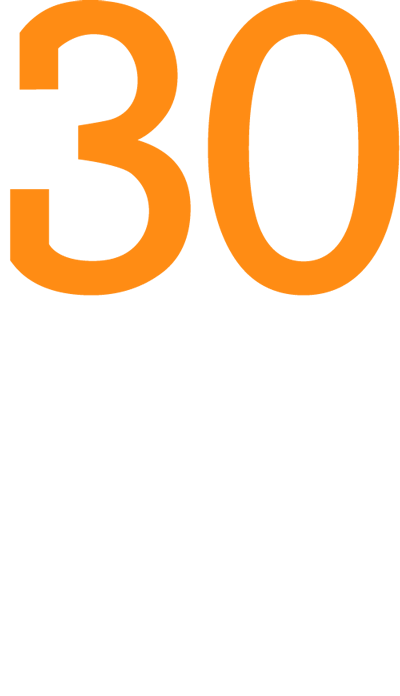 Logo 30 Jahre CRM Praxis mit GEDYS IntraWare