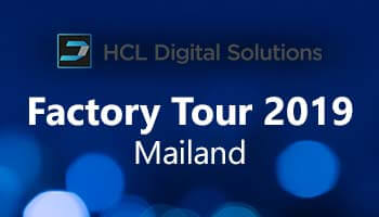 CRM news: image for article about notes and domino, HCL factory tour 2019