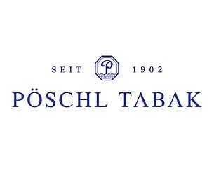 Reference Pöschel Tobacco, German Logo