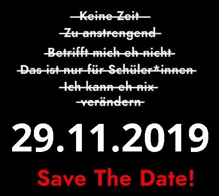 Nächstes Klimaschutz Event: 29.11-2019