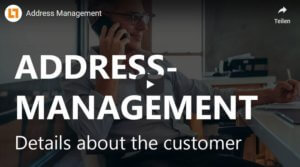 Video: Addressmanagement all details about the customer | GEDYS IntraWare CRM