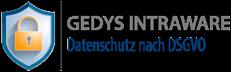 Logo GEDYS-IntraWare Datenschutz nach DSGVO