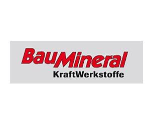 Kundenrefrenz GEDYS IntraWare: Logo von BauMineral KraftWerkstoffe
