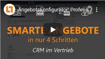 Video: Angebotskonfigurator: Professionelle Angebote in 4 Schritten | GEDYS IntraWare CRM