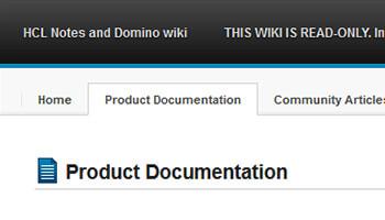 HCL-Blog: Beitragsbild zu HCL Domino Wiki