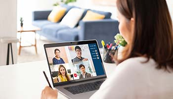 CRM news: image for article about video conferences