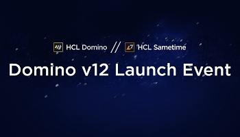 HCL blog image to HCL Domino v12 Launch