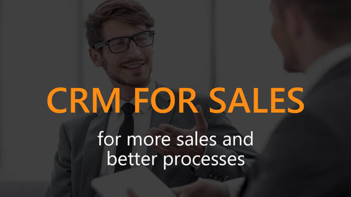 CRM for sales, videoplaylist, start screen